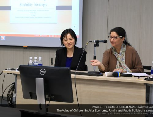 Parenting Practices in China, National University of Singapore, November 2018
